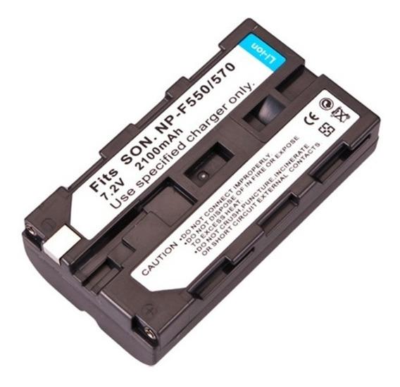 Bateria Np-f550 F570 Iluminador Led 2200mah Hd160 Cn160