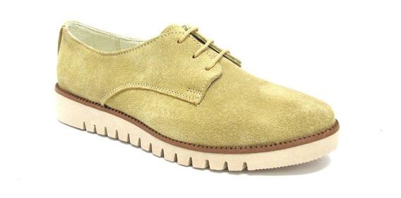 Zapatos Beige De Piso Dama E001