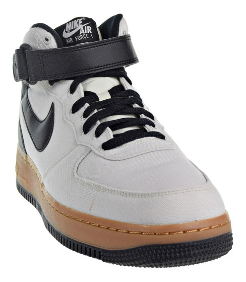 Zapatillas Bota Nike Air Force 1 Mid Txt Crudo Negro