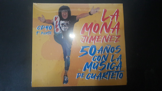 La Mona Jimenez - Cd 90 - 50 Años Con La Música De Cuarteto