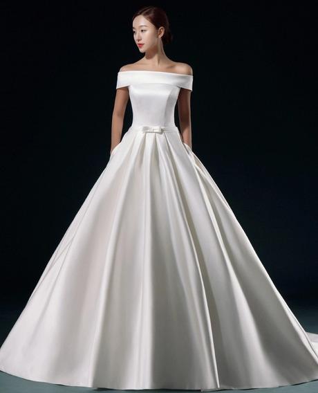 Vestido De Noiva Decote Canoa Moderno Boho Chic Princesa