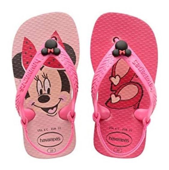Ojotas Havaianas Bebé New Baby Disney Classics Originales