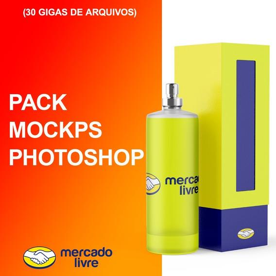 + De 400 Mockups Photoshop Diversas Categorias E Posições