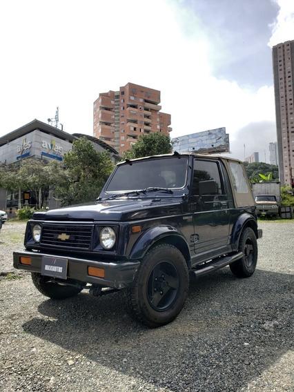 Chevrolet Samurai Mod 1996 Motor 1.300 Gasolina Azul Perla
