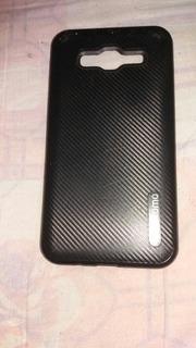 Capinha Pra Celular J5 De Fibra De Carbono
