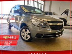 Chevrolet Agile 1.4 Ls Spirit Modelo 2013