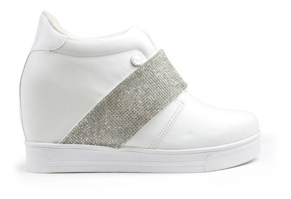 Zapatillas Zapatos De Mujer Ss2020 Bleu Blancas - Ferraro