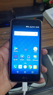 Smartphone Lg K4 - X230ds Com Fone De Ouvido.