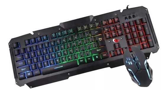 Kit Teclado E Mouse Gamer Leadership Spata