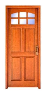 Puerta Algarrobo Con Herrajes