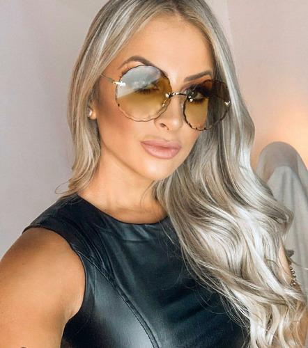 1cfc6d9d3 Oculos De Sol Feminino Para Pre Adolescente Colorido - Calçados ...
