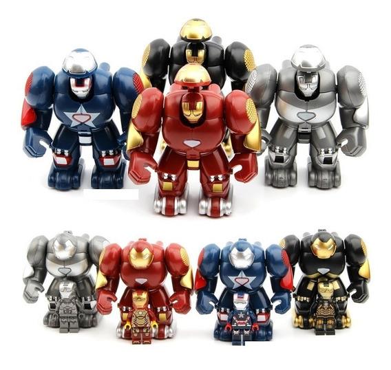 Set De Bloques Hombre Araña Infinity War Thanos Iron Man