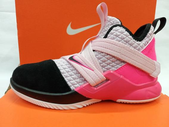 Tenis De Basquetbol Nike Lebron Soldier 12 De Niña Original
