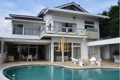 Casa Com 4 Dormitórios À Venda, 1000 M² Por R$ 4.000.000,00 - Alphaville 08 - Santana De Parnaíba/sp - Ca1143
