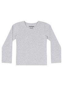 b7e95e15d Camiseta M. Longa Básica Feminina Cotton Infantil Nº 1 Ao 3