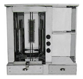 Balcão De Churrasco Grego Em Aço Inox Com Pá Coletora R2