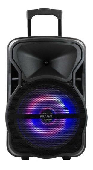 Caixa de som Frahm CM 600 BT portátil sem fio Preto 110V/220V (Bivolt)