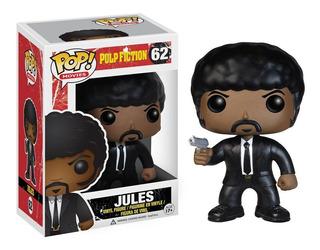 Funko Pop Movies! Pulp Fiction Jules 62 Vincent 61 Jimmie 64
