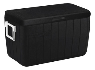 Caixa Térmica Cooler Coleman All Black Preto Com Alças 45,4l