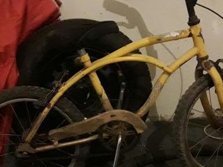 Bicicleta Color Amarilla Rod 16