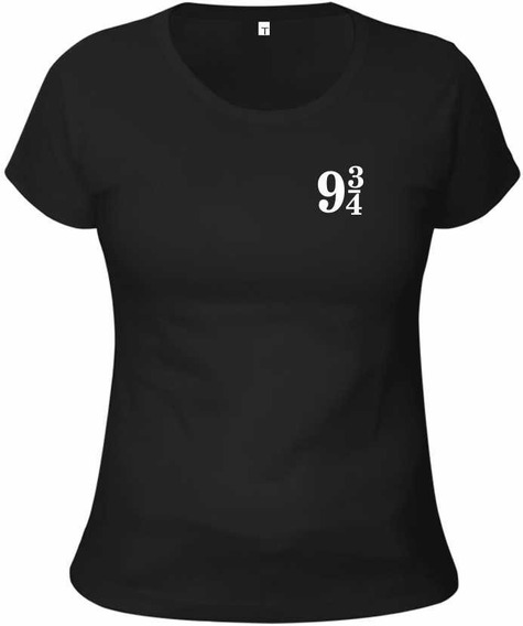Baby Look Camiseta Harry Potter - Plataforma 9 3/4