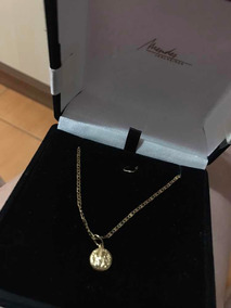 Corrente De Ouro 18k - Medalha São Bento