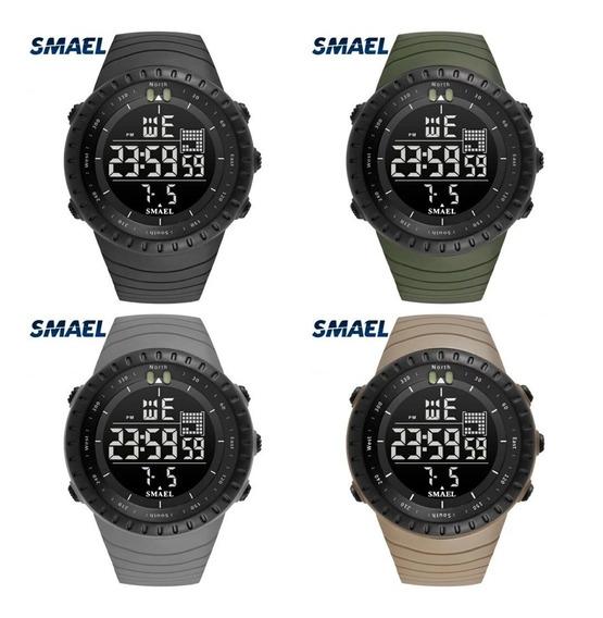 Relógio Smael 1237 Esportivo Militar Prova D