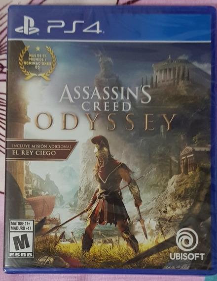 Assassins Creed Odyssey Ps4 - Nuevos Y Sellados