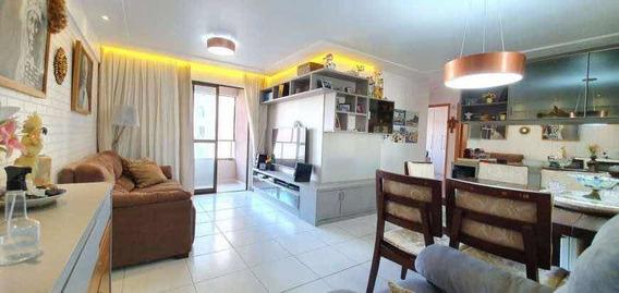 Excelente Apartamento, 92m2-3qtos+1dce- Capim Macio/natal