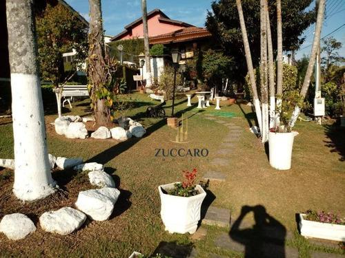 Linda Chacara Em Atibaia, Aceita Apartamento De Menor Valor Como Pagamento - Ch0083
