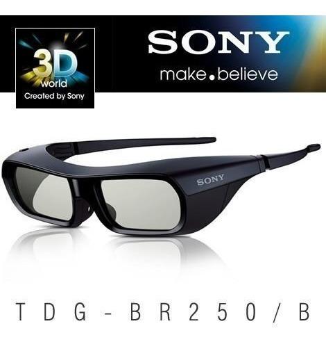 Óculos 3d Ativo Sony Tdg-br250 Top! Novo! Original! Lacrado!