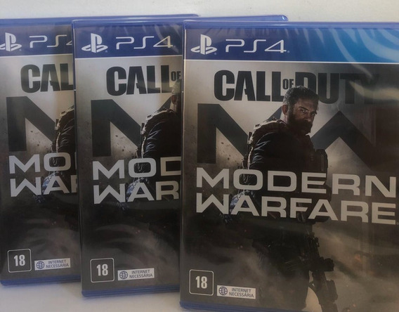 Call Of Duty Modern Warfare Ps4 Mídia Física Oferta