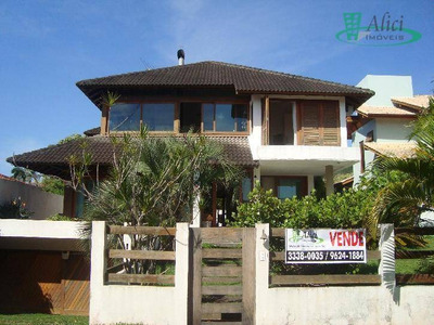 Casa Residencial À Venda, Lagoa Da Conceição, Florianópolis - Ca0267. - Ca0267