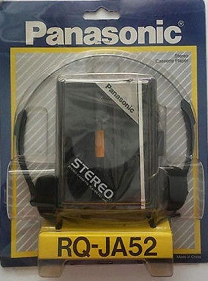 Panasonic Rq-ja52 Reproductor De Cassette Estéreo Retro
