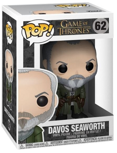Funko Pop Game Of Thrones 62 Davos Seaworth Magic4ever
