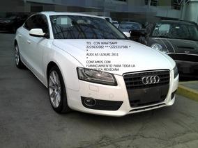 Audi A5 2.0 Spb Luxury T Qtro Dsg 2011 Sedan Engan $ 45,600