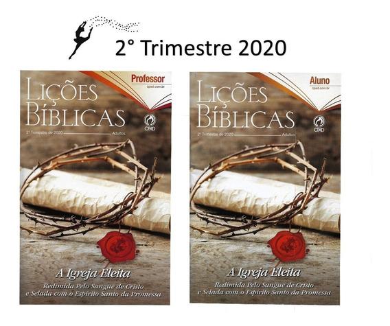 Kit Revistas Lições Bíblicas Adulto 15 Alunos + 2 Professor