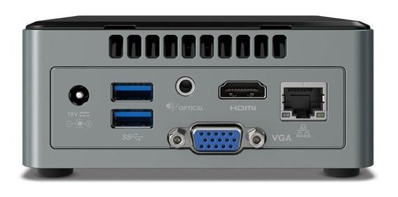 Mini Pc Kit Intel Nuc Boxnuc6cayh 4gb Ssd 120gb Quad Core