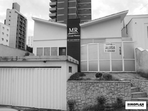 Casa Comercial Em Campinas - Cambuí - Ca00013 - 3229025