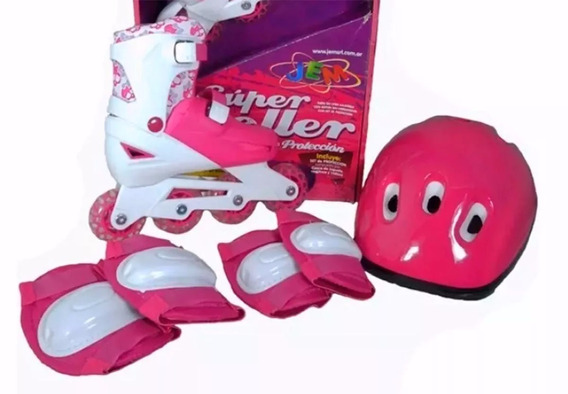 Jem Super Rollers Con Set De Proteccion Yx-0153as4 Babymovil