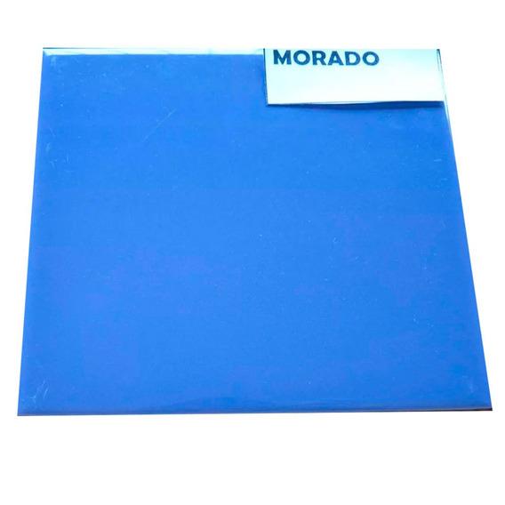 Azulejo Qxq Morado 15x15 1era (x Pieza) Sp