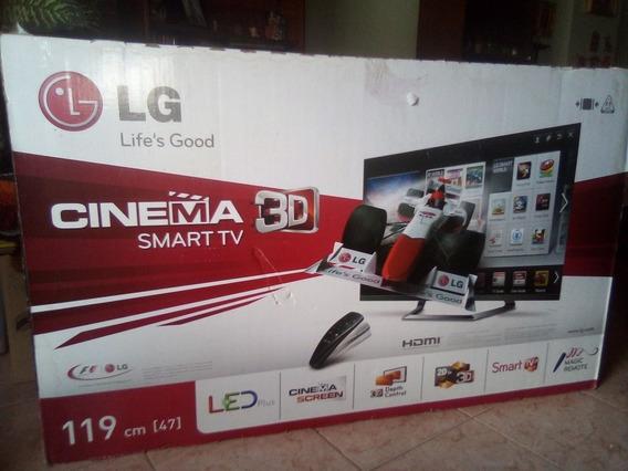 Televisor Lg Cinema 3d Smart 119cm 47 650v