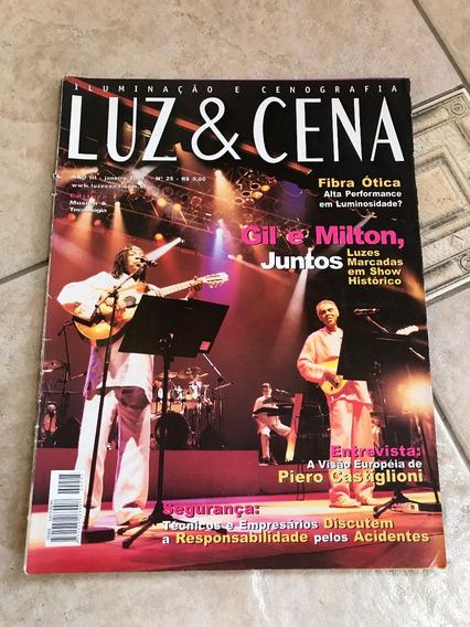 Revista Luz E Cena 25 Gilberto Gil E Milton Nascimento D291