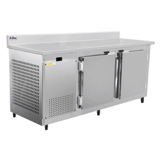 Balcão Industrial Profissional Inox 1,9 M 110v/220v Frilux *