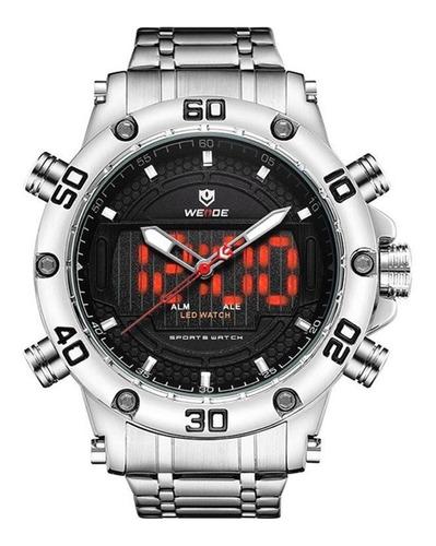 Relógio Masculino Esportivo Weide Anadigi Wh-6910 Original