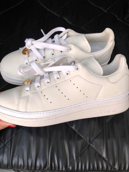 adidas Stan Smith New Bold Blancas Originales