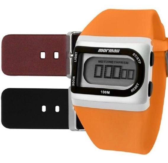 Relógio Mormaii Digital Troca Pulseiras Fzg/t8e