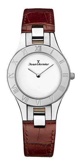 Relógio Analogo Jean Vernier Jv7303 Branco