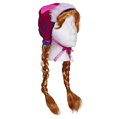 Gorra De Nieve Y Trenzas De Disney Frozen Anna