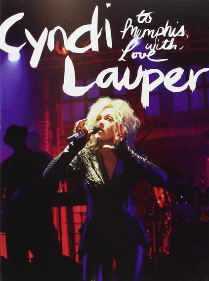 Cyndi Lauper To Memphis With Love Dvd Nuevo Cerrado En Stock